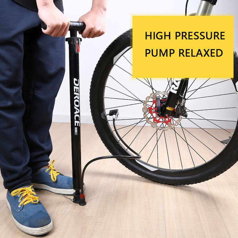 MTB высокого давления велосипедный воздушный насос, мини-насос велосипедный ручной насос с манометром для шин велосипед/автомобиль/мяч, цикл аксессуары