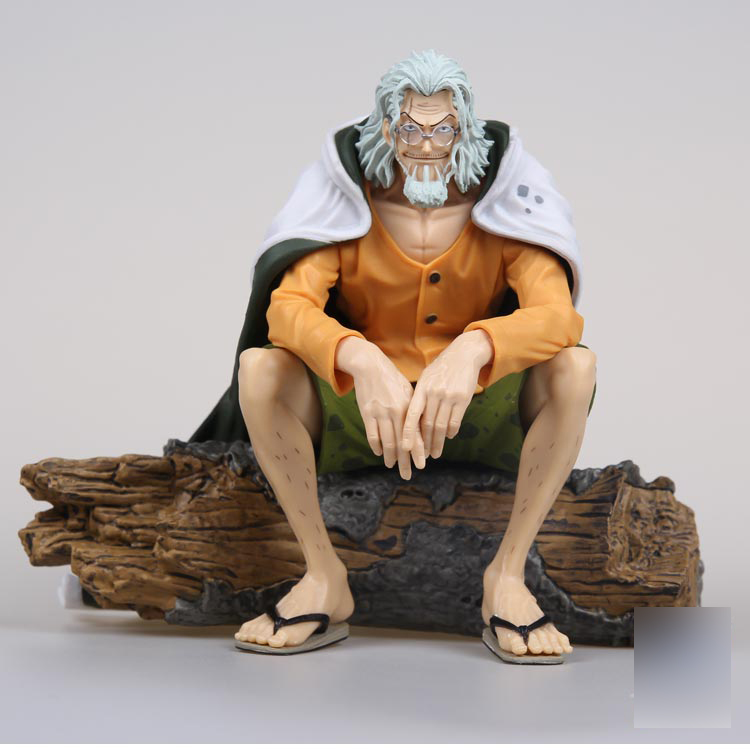 14cm 1PCS Japanese original anime figure one piece Silvers Rayleigh action figure collectible model toys for boys japanese anime one piece original megahouse mh variable action heroes complete action figure dracule mihawk