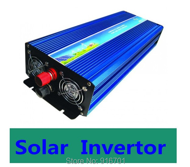 цена на 1.2KW 12 Volt 220 Volt Solar Off Grid DC-AC Inverter Pure Sine Wave 1200W