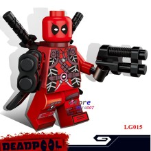 1PCS model building blocks action figure starwars superheroes deadpool classic Collection Series diy toys for children gift(China)