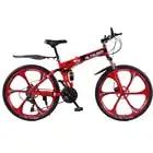 Altruism X9 Складной горный велосипед Алюминий 21 скорость 26 дюймов с двойным дисковые тормоза велосипеды горные велосипеды женщин беговые лыжи ...