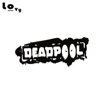 Deadpool Vinyl Car Sticker Funny Comic Superhero Blood Car Decal for Car Body Window Decoration  CA1329 car