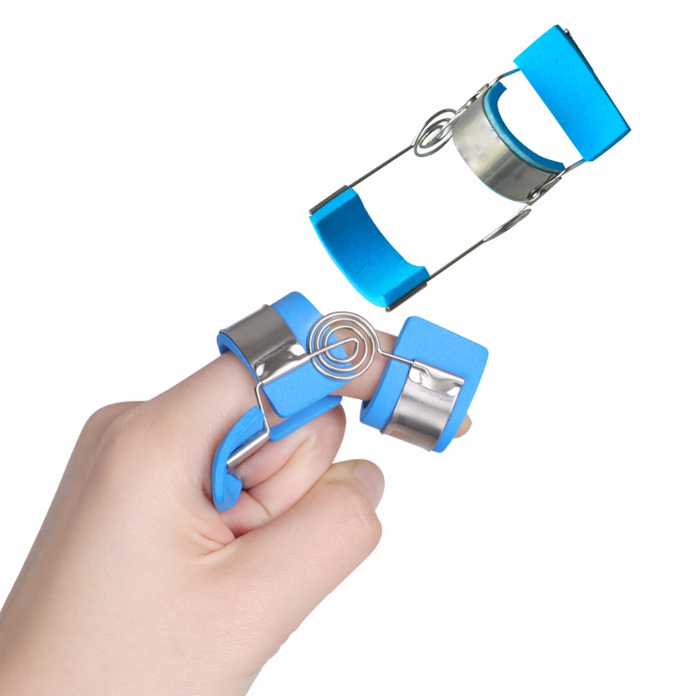 Plastic Metal Brace Finger Joints Training Splint Orthosis Finger s Contractures Spasm Hemiplegic Stroke Knuckle Recovery
