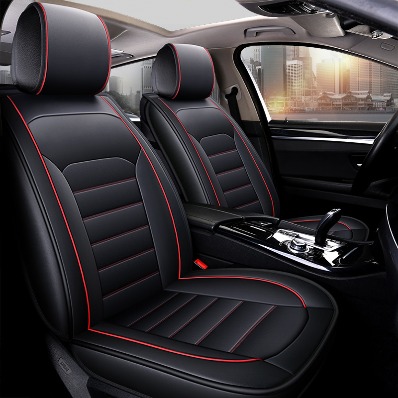 Housses de siège de voiture avant de luxe Style haut dossier couvercle de siège de voiture Auto intérieur protecteur de siège de voiture pour Toyota tous les modèles de voiture