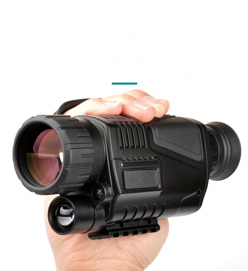 Professional Night Vision Monocular Multi-functional Camera Video Recorder Camcorder 5x40 telescope Video Recorder Camcorder
