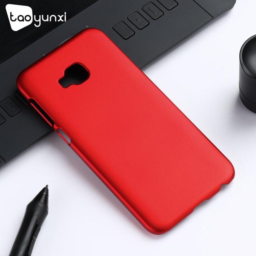 TAOYUNXI ультра тонкий чехол для Asus Zenfone 4 селфи Pro Чехлы жесткий Пластик матовый ZD552KL охватывает масло покрытием fundas кожи