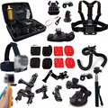 Gopro accessories set go pro kit mount case bag tripod stick for Gopro SJCAM EKEN SOOCOO SONY GITUP 2 XIAOMI YI 2 4K Action Cam