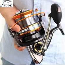 FDDL Brand 9000-1000 full metal spool Jigging trolling long shot casting for carp and salt water surf spinning fishing reel