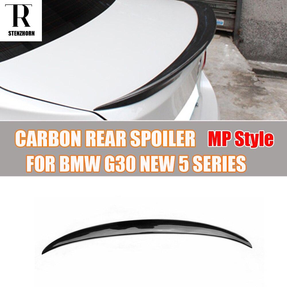 Aileron d'aile de coffre arrière en Fiber de carbone Style M performance pour BMW G30 530 540 F90 M5 2017 UP