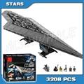 3208 piezas nuevo destructor de superestrellas de la guerra del espacio 05028 ensamblar bloques de construcción de modelos grandes regalos juguetes compatibles con ladrillos Lego