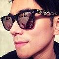 Vintage gafas de Sol Hombres Diseñador de la Marca Gafas de Sol Mujeres Squared Shades Gafas de Moda 2017 Retro gafas de sol masculino