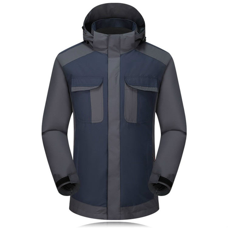 Outdoor stormtrooper suit men with fleece and thick waterproof sports can remove two sets of mountaineering ski jackets autumn winter outdoor stormtrooper suit two sets of men and women s thick warm and windproof couple mountaineering suit