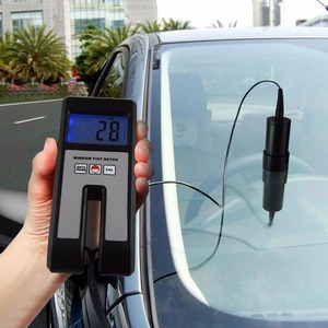 Image 3 - Digital Window Tint Meter Visual Light Transmission 18mm Thickness Continuous Measuring with Sensor 100% Range Glass Plastic