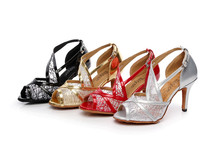 2016 damen Party Ballsaal Latin Dance Schuhe Frauen Salsa Tanzen Schuhe