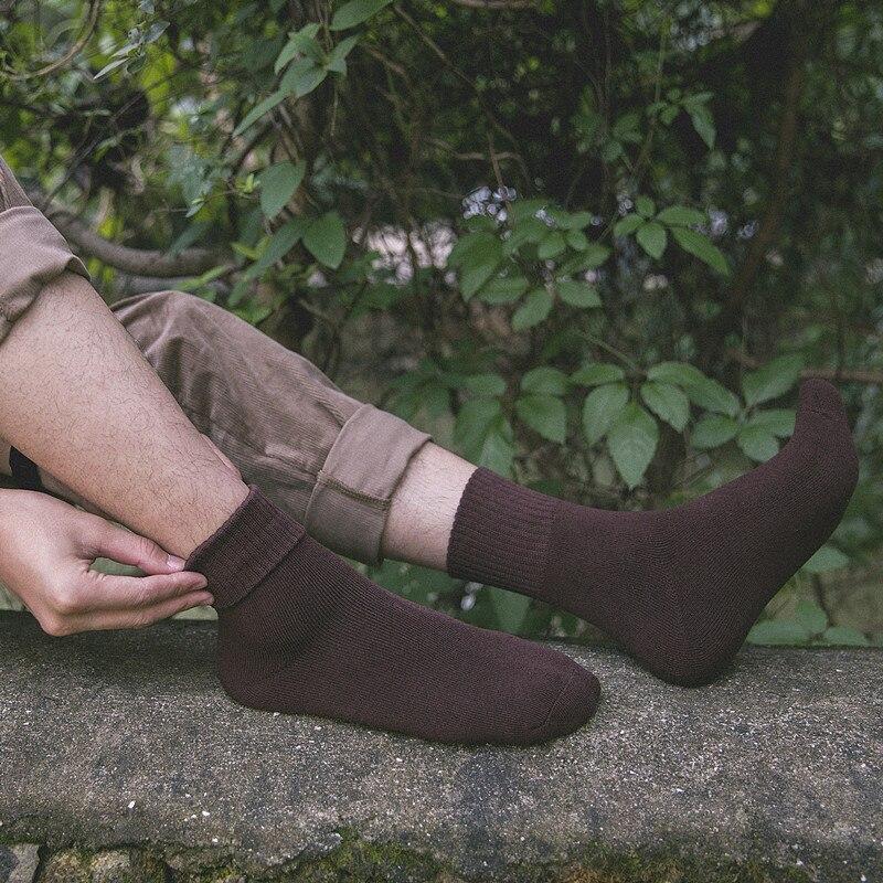 Lurehooker Thicker Solid Socks Merino Wool Rabbit Socks Against Cold Snow Russia Winter Warm Business Sock Male Men Socks