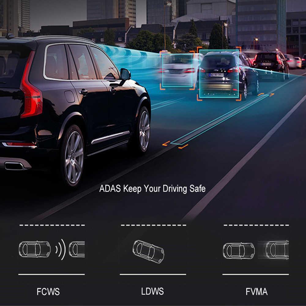 WHEXUNE, новинка 2019, Автомобильный видеорегистратор, gps камера-навигатор, 4G, 10 дюймов, Android Stream, медиа, зеркало заднего вида, FHD 1080 P, gps, зеркало, видеорегистратор