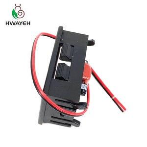 """Image 2 - AC 70 500 v 0.56 """"LED דיגיטלי מד מתח מתח מד וולט מכשיר כלי 2 חוטים אדום ירוק כחול תצוגת 110 v 220 v DIY 0.56 inch"""