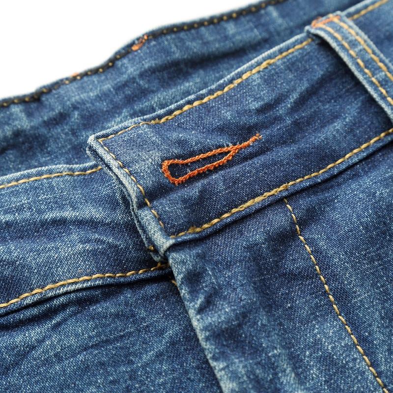 MOGU Fashion Hole Denim lühikesed püksid meeste suveks uued vabaaja - Meeste riided - Foto 2