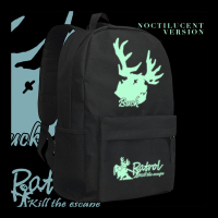 Zshop Identity V Backpack Light in Dark Deer Haed Design Daypack