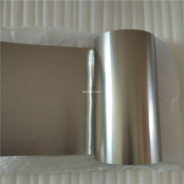 Feuille de titane gr2, cp2, bande de titane 0.1mm d'épaisseur, largeur 200mm, livraison gratuite