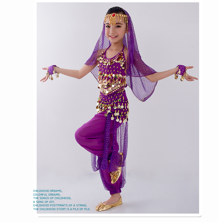 HTB1Rp70boT1gK0jSZFrq6ANCXXae - Kids Belly Dance Costumes Set Oriental Dance Girls Belly Dancing India Belly Dance Clothes Bellydance Child Kids Indian 6 Colors