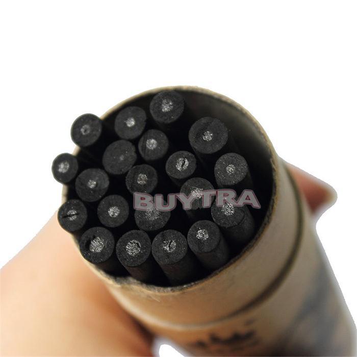 20 Pcs Set Willow Charcoal Bar Pencils Sketch Drawing Artist JS