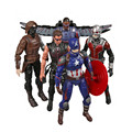 Captain America Civil War Avengers PVC Action Figures Iron Man Ant-Man Hawkeye Falcon Bucky Vision Spiderman War Machine