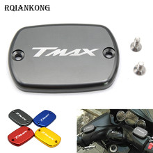 CNC Motorcycle Motorbike Fluid Reservoir Cap Tank Cap Cover For Yamaha Tmax530 T-max 530 T max 530 2012 2013 2014 2015 2016 2017 cnc motorcycle exhaust pipe muffler tail port cover cap for yamaha tmax530 tmax 530 t max 530 2012 2013 2014 2015 2016 2017