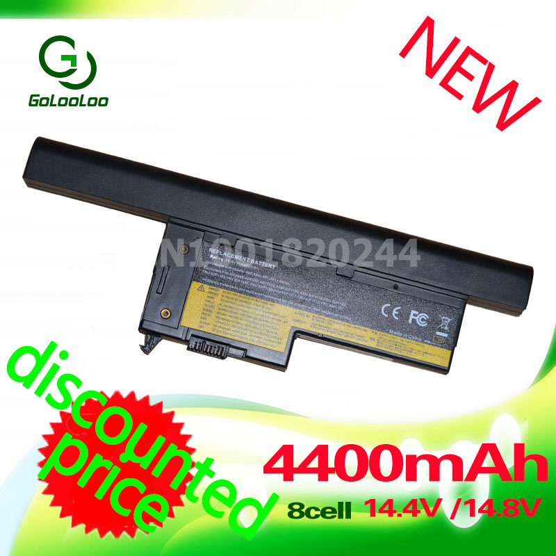 Golooloo X60S 4400mAh for IBM Laptop Battery For IBM ThinkPad X61s 40Y7003  42T4776 92P1174 92P1172