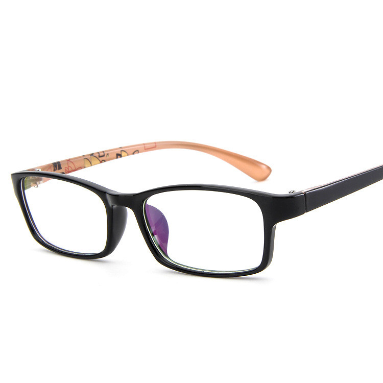 a22664a7b6b Fashion Square Retro Studdent Plastic Glasses Frame Ultralight Clear lens  Glasses Oculos De Grau myopia frame