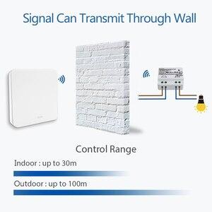 Image 4 - אלחוטי מתג הקינטית אין סוללה צורך לא חיווט צורך קל להתקין, שלט רחוק אור מנורות, מאוורר, מאוורר פליטה