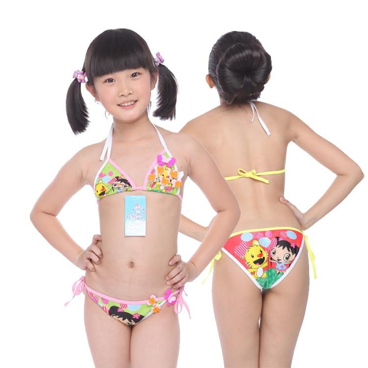 Children S Teens: Swimwear Cartoon Child Swimwear Bikini Infant Baby