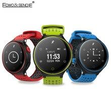 Edwo X2 Smart Браслет часы 0.96 дюймов монитор сердечного ритма SmartBand крови Давление Браслет фитнес-трекер сна Браслет