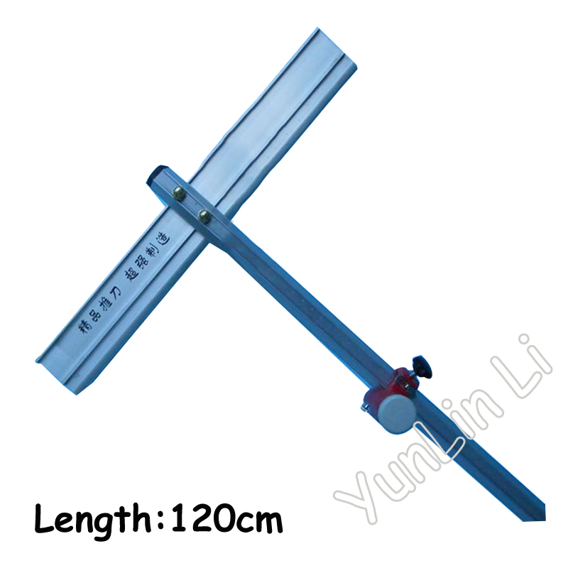 Glass T-Cutter T Glass Cutter Type Long Type Glass Cutter 120cm High Quality high quality professional 40cm 6 numbered wheels compasses glass circle cutter with suction cup circle glass cutter bhu2 for