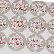 60pcs/lot Round 3.5CM Stickers Paper Label, For Baking Package Box / Bags / Cup Seal Label Merry Christmas Gift Packing Kraft(China)