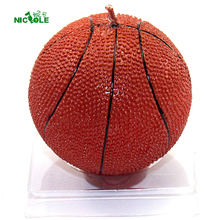 Basketball Shape 3D Silicone Mold Craft Handmade Soap Candle Making Mould