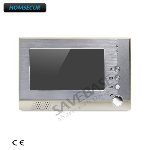 все цены на HOMSECUR 7inch Color Indoor Monitor XM710-G for Video Door Phone Intercom System онлайн