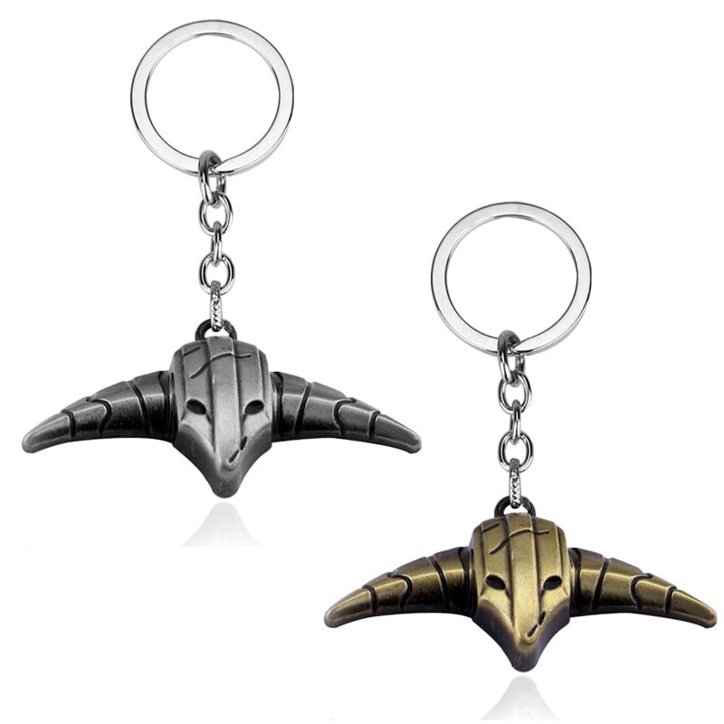 dongsheng DOTA 2 Keychain Rogue Knight sven Key Ring Holder Gift Chaveiro Car Key Chain Pendant Game Jewelry Souvenir-50
