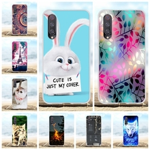 For Xiaomi Mi 9 SE Case Ultra Thin Soft TPU Silicone Cover Rabbit Patterned Bumper Funda