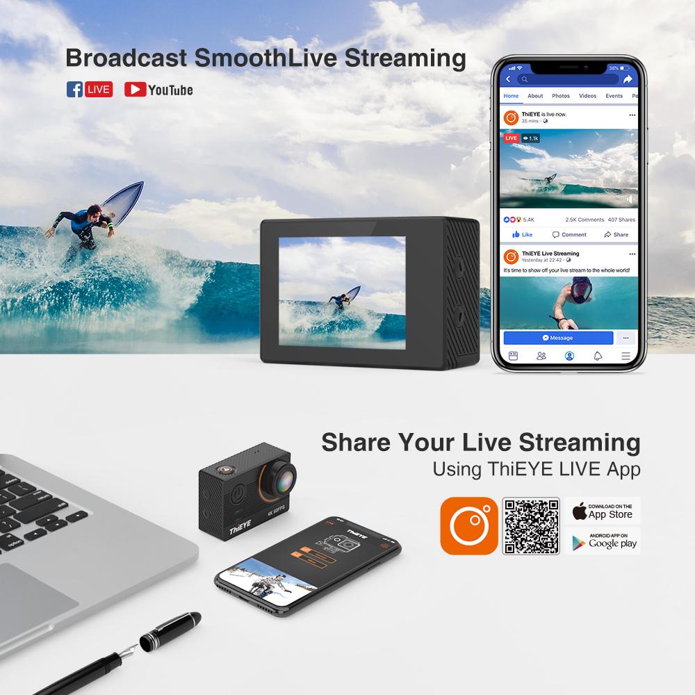 ThiEYE T5 Pro Real Ultra HD 4K 60fps 18