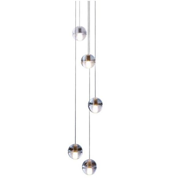 14 145 five pendant chandelier suspension light meteor shower bubble glass ball lamp lighting fixture dining chandelier pendant lighting