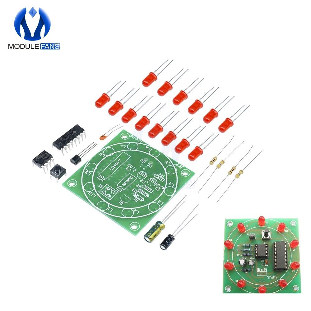 New LED DIY Kits Interest Electronic Production Funny DIY Creative Birthday Gift