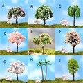 Nova Simulação simulação árvore da flor de cereja Micro Paisagem Decoração da árvore de Natal Toy Figuras brinquedos