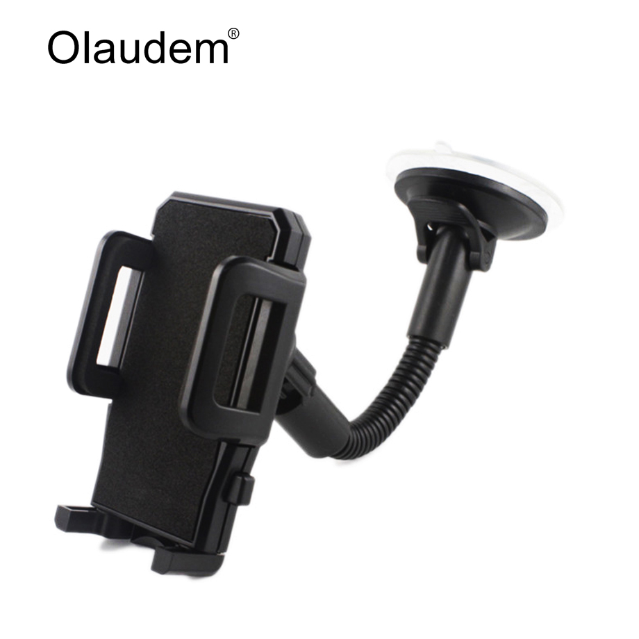 Car phone holder for iphone 6 7 samsung windshield mount car holder 360 degree rotatable movil