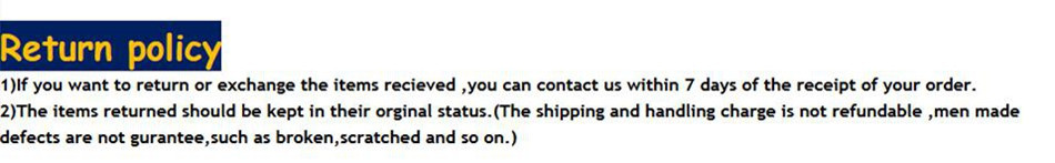 shipping policy4