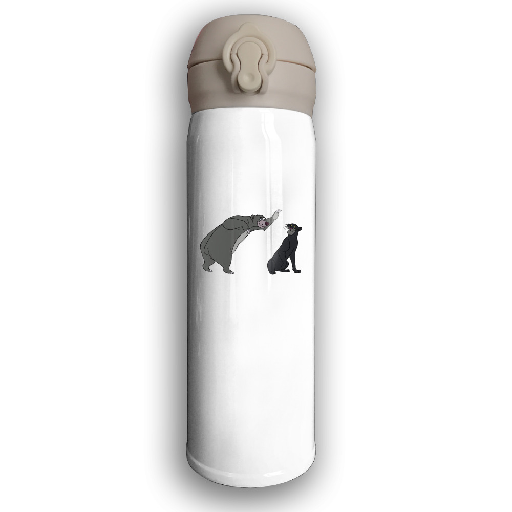 The Jungle Book Print Thermos Sport Leisure Stainless Steel Cup 500ML Vacuum Cup