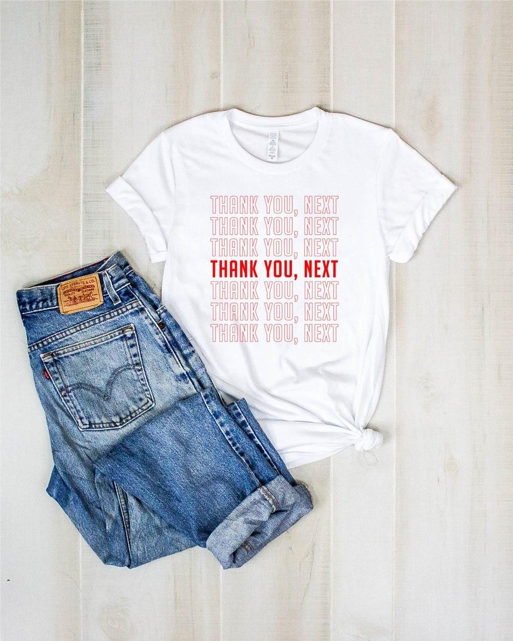 2624fae4 Gracias la próxima Unisex T camisa para los hombres y las mujeres-Ariana  Grande Inpsired, me siento ...