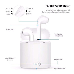 Image 5 - i7 Tws wireless headset Bluetooth earphones twin headphones Bluetooth headset with charging box for all smartphones