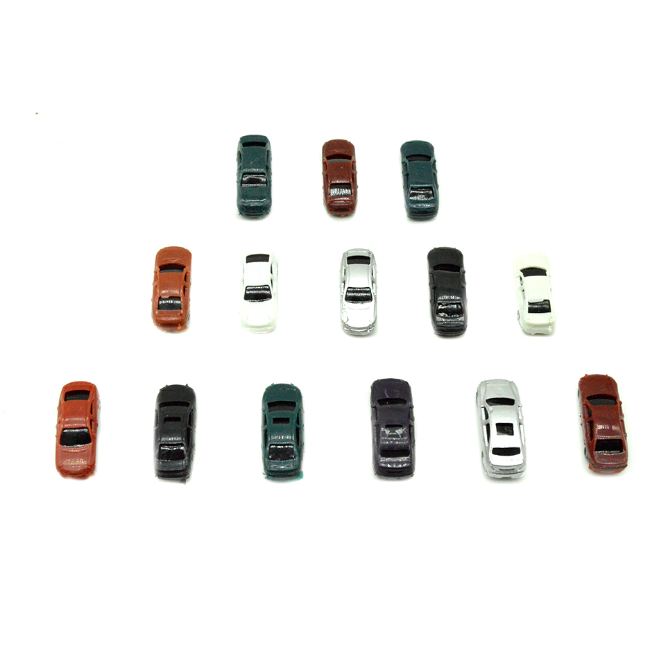 50pcs 1 200 Scale plastic Model Car Toys Car Miniatures for model train layout in Model Building Kits from Toys Hobbies