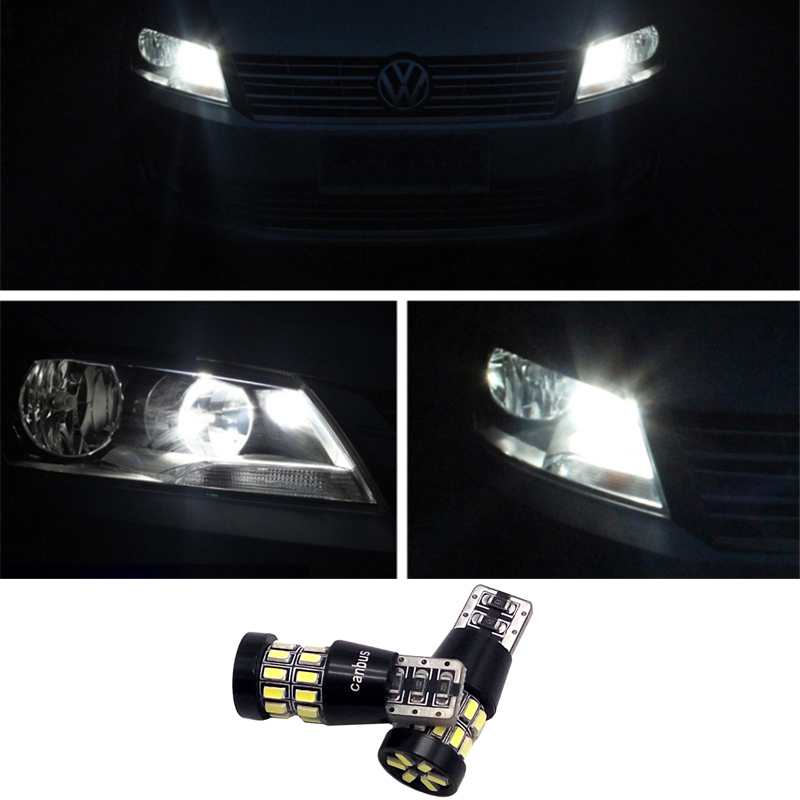 2pcs LED Canbus T10 W5W 3014 30SMD Car LED Light Lamp Bulb Interior For VW Scirocco Passat b6 b7 Jetta Golf 5 6 7 MK5 CC Tiguan for volkswagen passat b6 b7 b8 led interior boot trunk luggage compartment light bulb